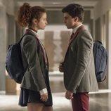 Samuel y Marina se miran cara a cara en la primera temporada de 'Élite'