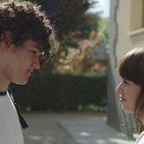 Jorge y Eva en la primera temporada de 'Skam España'