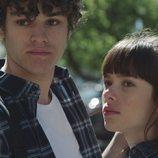 Eva y Jorge en la primera temporada de 'Skam España'