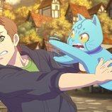 Rubius y el fantasma Slimmer, personajes de la serie 'Virtual Hero'