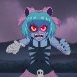 Zombirella, compañera de aventuras de Rubius en 'Virtual Hero'