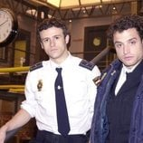 Diego Martín y Dani Guzmán en 'Policías, en el corazón de la calle'