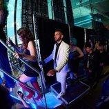 Juan Antonio ('OT 2017') sube al escenario en un concierto de la Gira