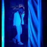 Juan Antonio ('OT 2017') entre bambalinas en uno de los conciertos de la Gira