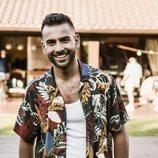Juan Antonio ('OT 2017') en el rodaje de su primer sencillo,