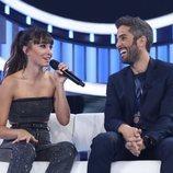 Aitana junto a Roberto Leal en la Gala 1 de 'OT 2018'