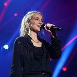 María durante su actuación en la Gala 1 de 'OT 2018'