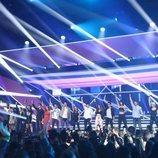 La actuación grupal de la Gala 1 de 'OT 2018'