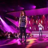 Julia y Joan en su actuación de la Gala 1 de 'OT 2018'