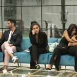 Aurah Ruiz, Suso, Miriam Saavedra, Chabelita y Techi en la gala 3 de 'GH VIP 6'