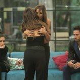 Chabelita Pantoja y Techi despidiéndose en la gala 3 de 'GH VIP 6'