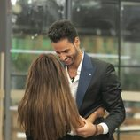 Chabelita Pantoja despidiéndose de Asraf Beno en la gala 3 de 'GH VIP 6'