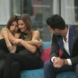 Chabelita Pantoja, Techi y Asraf Beno en la gala 3 de 'GH VIP 6'