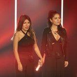 Chabelita Pantoja y Miriam Saavedra juntas en la expulsión en la gala 3 de 'GH VIP 6'