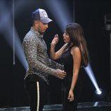 Omar Montes abraza a Chabelita Pantoja por la cintura en la gala 3 de 'GH VIP 6'