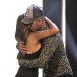 Chabelita Pantoja abraza a Omar Montes al despedirse durante la gala 3 de 'GH VIP 6'