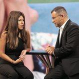 Jorge Javier Vázquez entrevista a Chabelita Pantoja en la gala 3 de 'GH VIP 6'