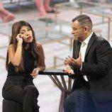 Chabelita Pantoja muy emocionada en la entrevista durante la gala 3 de 'GH VIP 6'