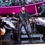 Carlos Baute imita a Elvis Presley en la gala 1 de 'Tu cara me suena'