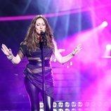 María Villalón imita a Malú en la gala 1 de 'Tu cara me suena'