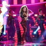 Mimi Doblas imita a Elena Foureira en la gala 1 de 'Tu cara me suena'