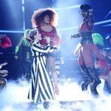 Soraya Arnelas imita a Katy Perry en la gala 1 de 'Tu cara me suena'