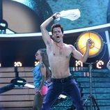 Jordi Coll es Robbie Williams en la gala 1 de 'Tu cara me suena'