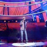 Manu Sánchez es Rod Stewart en la gala 1 de 'Tu cara me suena'