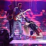 Paulina Rubio y su actuación en la gala 1 de 'Tu cara me suena'