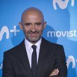 Antonio Lobato en el Upfront Movistar+ 2018