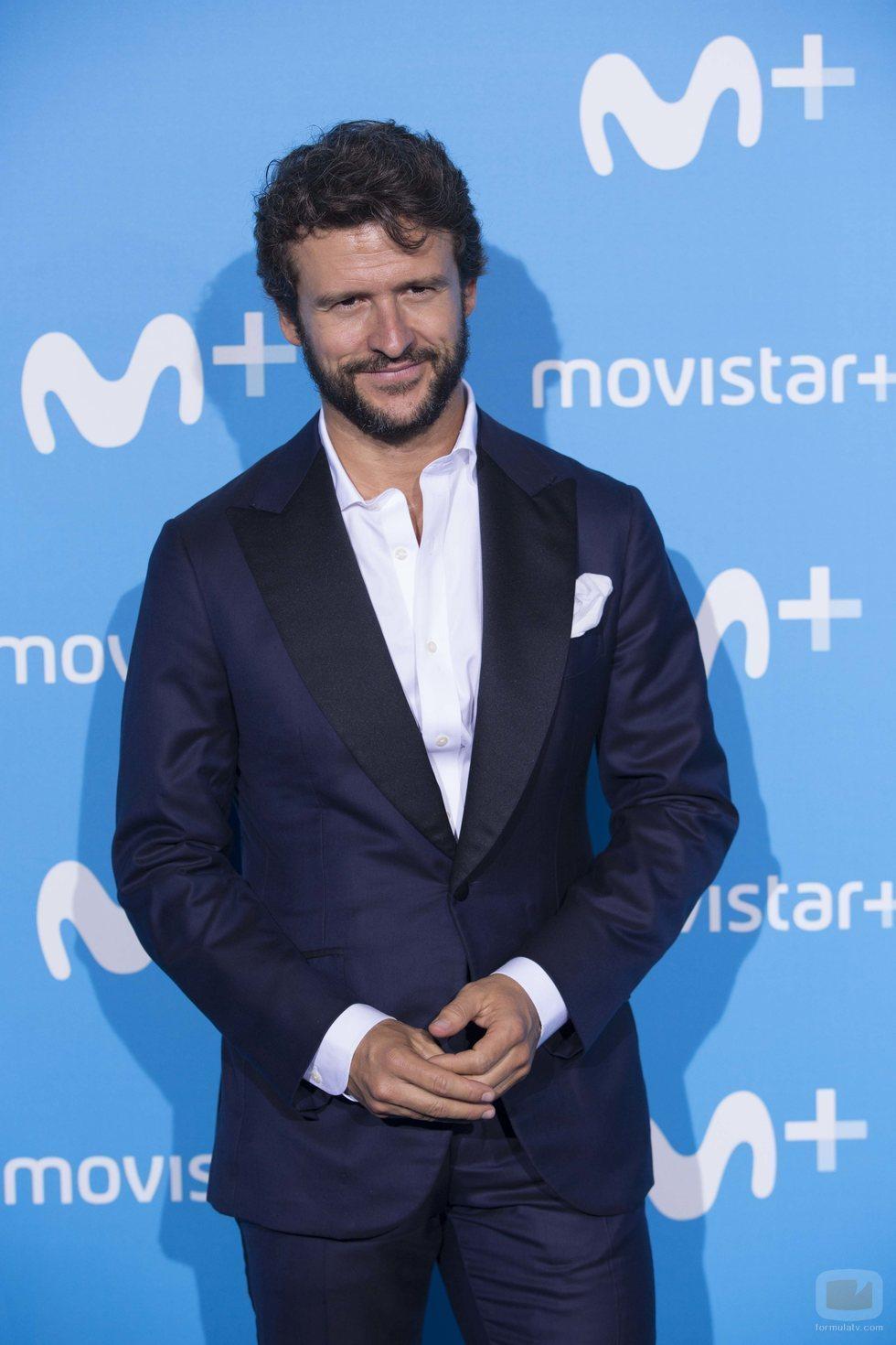Diego Martín, Enrique en 'Velvet Colección' en el Upfront Movistar+ 2018