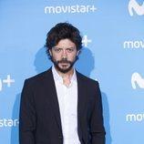 Álvaro Morte, Óscar en 'El embarcadero', en el Upfront Movistar+ 2018