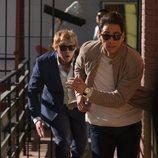 Albert Hill y Charlie Cavendish-Scott, de 'Snatch', huyendo en la segunda temporada