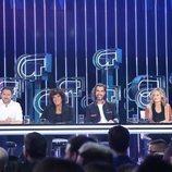 El jurado de la Gala 2 de 'OT 2018'