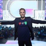 Roberto Leal, sonriente en la Gala 2 de 'OT 2018'