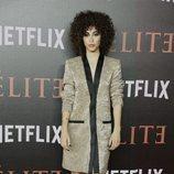 Mina El Hammani en el estreno de 'Élite'