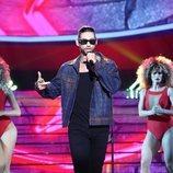 Carlos Baute imita a Maluma en la gala 2 de 'Tu cara me suena'