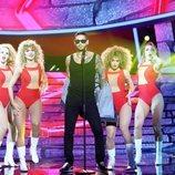Carlos Baute interpreta a Maluma en la gala 2 de 'Tu cara me suena'