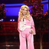 Soraya Arnelas imita a Dolly Parton en la gala 2 de 'Tu cara me suena'