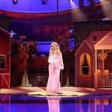 Soraya Arnelas interpreta a Dolly Parton en la gala 2 de 'Tu cara me suena'