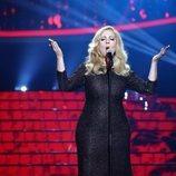 María Villalón interpreta a Adele en la gala 2 de 'Tu cara me suena'