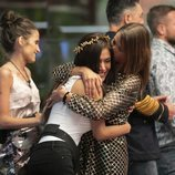 Miriam Saavedra se abraza con Techi en la Gala 4 de 'GH VIP 6'