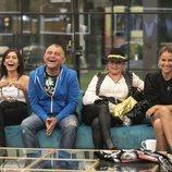 Las risas de los nominados antes de conocerse el expulsado de la Gala 4 en 'GH VIP 6'