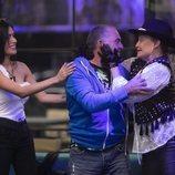 Las dos nominadas felicitan a El Koala por salvarse en la Gala 4 de 'GH VIP 6'
