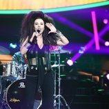 Anabel Alonso imitando a Alaska en la Gala 3 de 'Tu cara me suena 7'