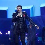 Jordi Coll imitando a George Michael en la Gala 3 de 'Tu cara me suena 7'