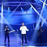 Manu Sánchez en su actuación de la Gala 3 de 'Tu cara me suena 7'