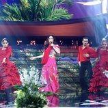 Soraya Arnelas se mete en la piel de Isabel Pantoja en la Gala 3 de 'Tu cara me suena 7'