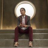 Mina El Hammani en una escena de la primera temporada de 'Élite'