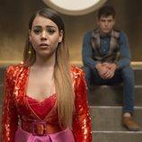 Danna Paola y Miguel Bernardeau, de 'Élite', en una escena de la primera temporada